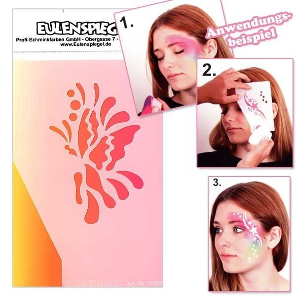 Eye-Design Schablone Butterfly